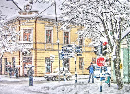 Foto – Bajina Bašta – zima