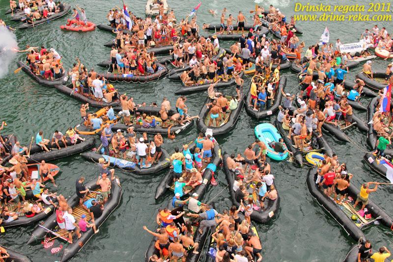Drinska regata Bajina Bašta 2011 – fotografije