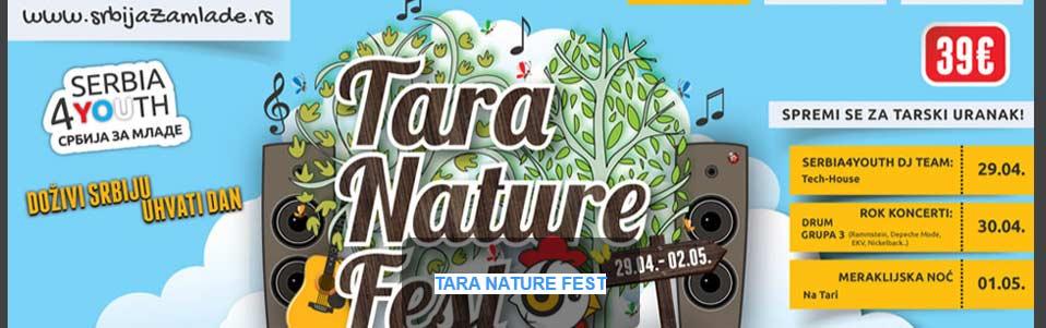 Tarski uranak – Tara Nature Fest (29.04.-02.05.)