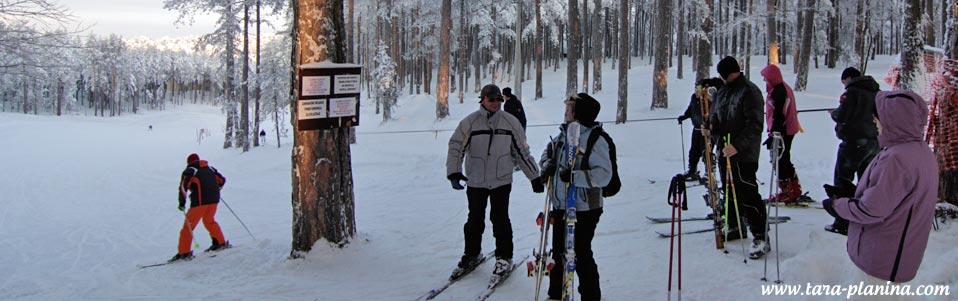 Tara: Obožavaju noćno skijanje