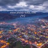 Bajina Bašta – slike iz vazduha