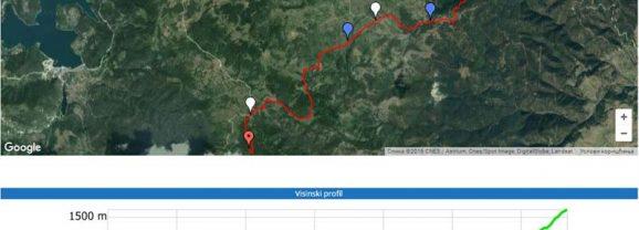 Markirane planinarske staze u NP TARA