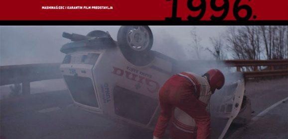 Najava Igranog filma o Obrenu Tešiću i reliju u Srbiji devedesetih