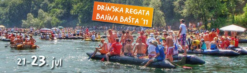 DRINSKA REGATA BAJINA BAŠTA 2011.
